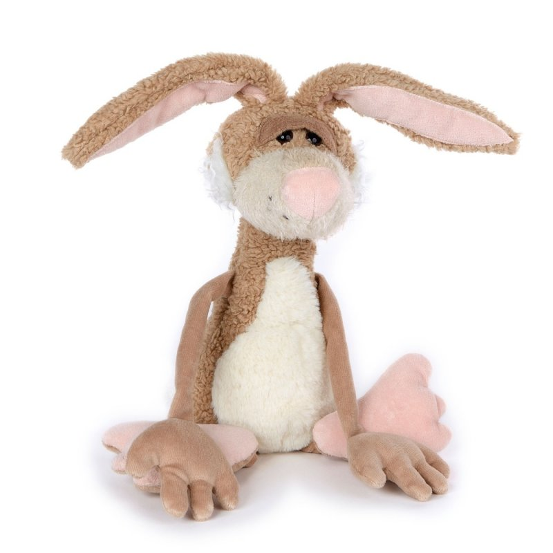 Hase Lazy Bunny, 30cm | sigikid BEASTtown Kuscheltier für Jugendliche und Erwachsene