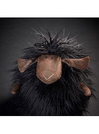 Schaf Black Sheepy, 22 cm | sigikid BEASTtown Kuscheltier für Jugendliche und Erwachsene