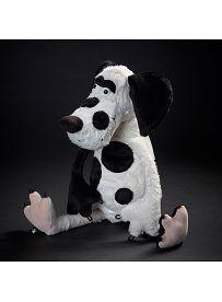 Hund Dotty Dot, 44cm | sigikid BEASTtown Kuscheltier für Jugendliche und Erwachsene