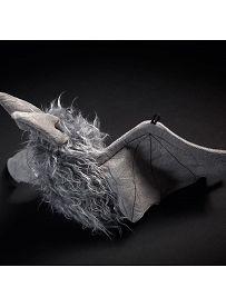 Fledermaus Battery Bat, 20cm | sigikid BEASTtown Kuscheltier für Jugendliche und Erwachsene
