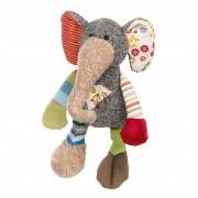Elefant bunt, 28cm | sigikid Patchwork Sweety Kuscheltier