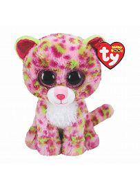 Leopard Lainey, rosa-grün 15cm | Ty Beanie Boo's