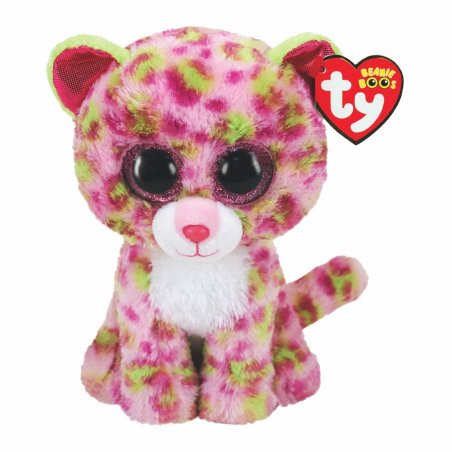 Leopard Lainey, rosa-grün 15cm   Ty Beanie Boo's