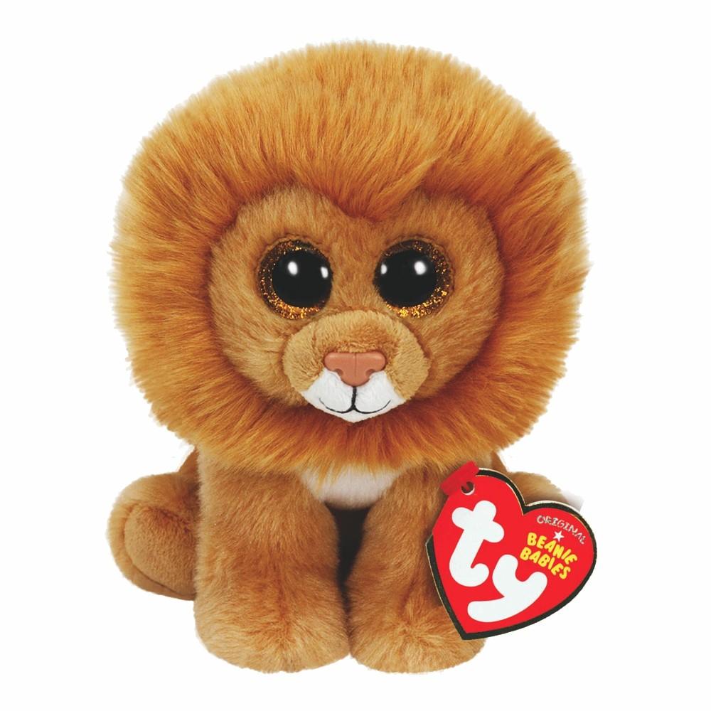 Löwe Louie, 15cm | Ty Beanie Babies Classic