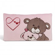 Teddybär Kissen, rosa | NICI Love Collection 2020