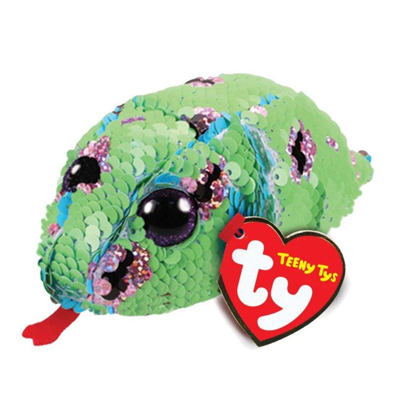 Schlange Monty, grün - türkis | Teeny Ty Flippables