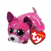 Chihuahua Yappy, pink - silber | Teeny Ty Flippables