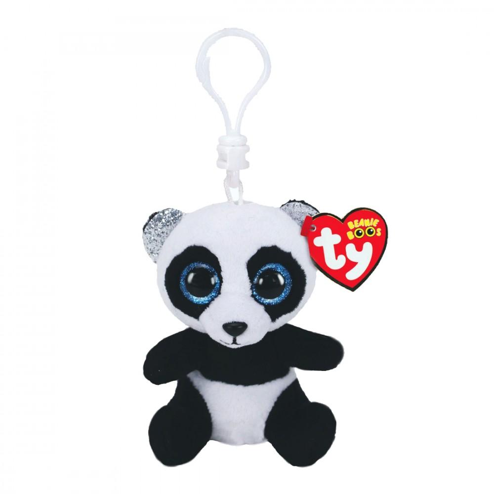 Panda Bamboo, 10cm | Ty Beanie Boo's Schlüsselanhänger