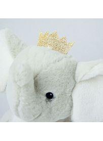 Histoire d'Ours Plüschtier: Elefant Elfy, Detailansicht | Kuscheltier.Boutique