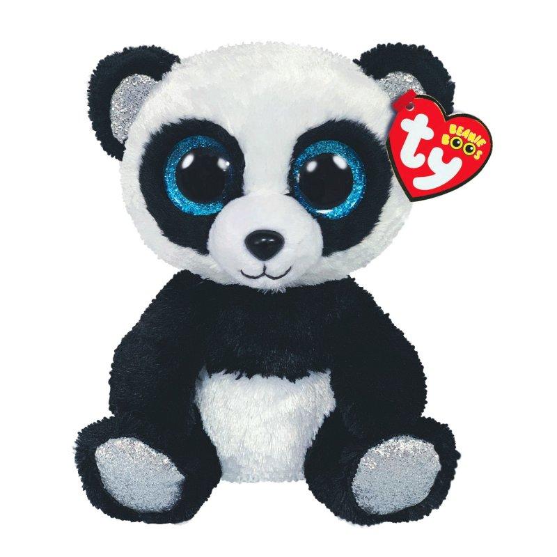 Panda Bamboo, schwarz-weiß 15cm | Ty Beanie Boo's Kuscheltiere