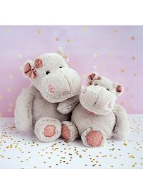 Nilpferd Hippo Girl, Plüschtier Histoire d'Ours   Kuscheltier.Boutique