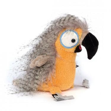 Papagei Fool Fly, 19cm   sigikid BEASTtown Kuscheltier für Jugendliche und Erwachsene