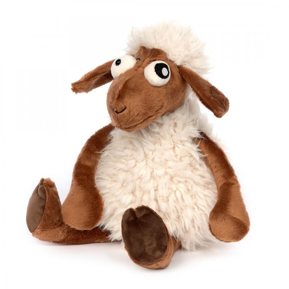 Schaf Crazy Sheep, 37cm | sigikid BEASTtown Kuscheltier für Jugendliche und Erwachsene