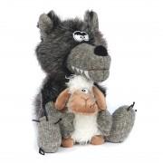 Wolf Love in Danger, 31cm | sigikid BEASTtown Kuscheltier für Jugendliche und Erwachsene