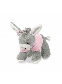 Esel Emmi Girl rosa, 20cm | Sterntaler Kuscheltier mit Rassel
