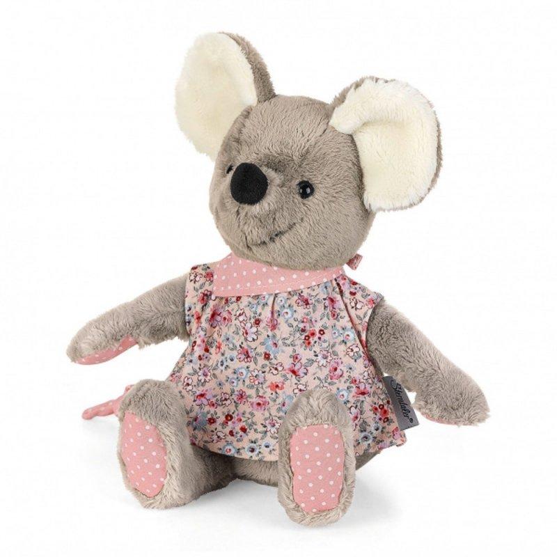 Maus Mabel rosa, 20cm   Sterntaler Kuscheltier mit Rassel