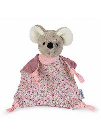 Maus Mabel rosa, 22cm   Sterntaler Schmusetuch ohne Rassel