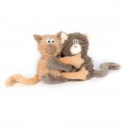 Katzenpärchen Gimme Hugs  | sigikid BEASTtown Kuscheltier für Jugendliche und Erwachsene