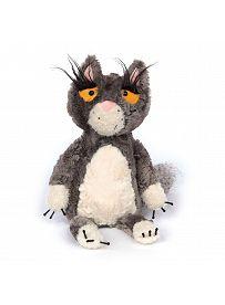 Katze Bad Cat, 34cm | sigikid BEASTtown Kuscheltier für Jugendliche und Erwachsene