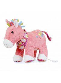 Pferd Peggy, 30cm | Sterntaler Spieluhr groß mit herausnehmbaren Spielwerk