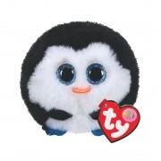 Pinguin Waddles, schwarz-weiß | Ty Puffies