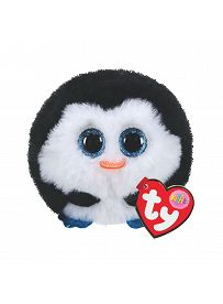Pinguin Waddles, schwarz-weiß   Ty Puffies