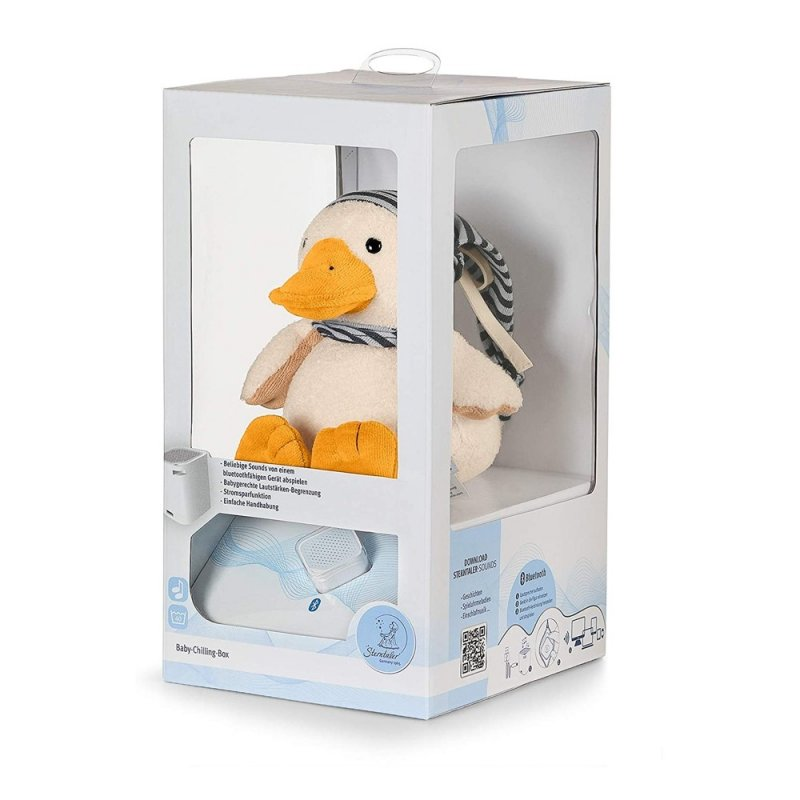 Ente Edda   Sterntaler Verpackung Chilling Box