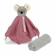 Sterntaler Träumli-Set Maus Mabel; Spielzeug und Spuktuch
