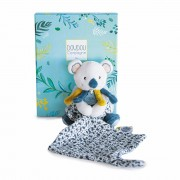 Koala, 12cm mit Schmusetuch im Karton Histoire d'Ours