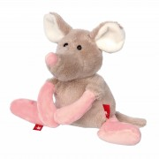 Maus Sweety, grau 16cm sigikid Kuscheltiere