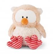 NICI Owlsons: Eule Owluna mit den rosa-roten Füßen, 25cm hoch