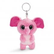 Elefant Fluppy, rosa | Nici GLUBSCHIS Schlüsselanhänger