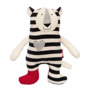 Tiger Black & White, 30cm   sigikid Kuscheltier für Babys