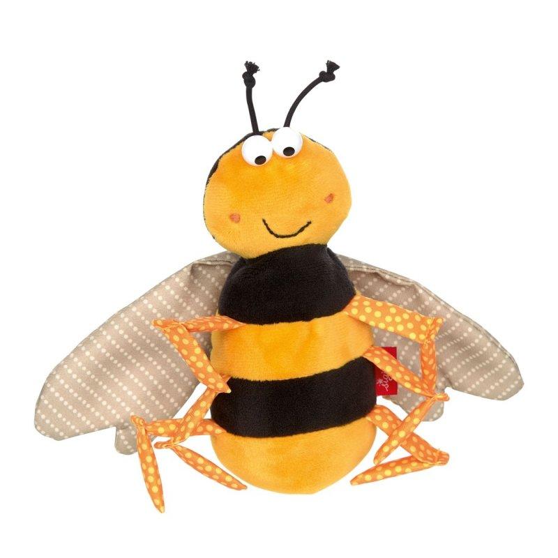 Biene, gelb-schwarz 14cm sigikid Mini-Kuscheltiere