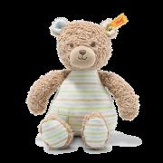 Steiff - Knopf im Ohr: GOTS Teddybär Rudy Junge, 24cm hellblau