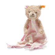 Steiff - Knopf im Ohr: GOTS Teddybär Rosy Schmusetuch, 24cm rosa
