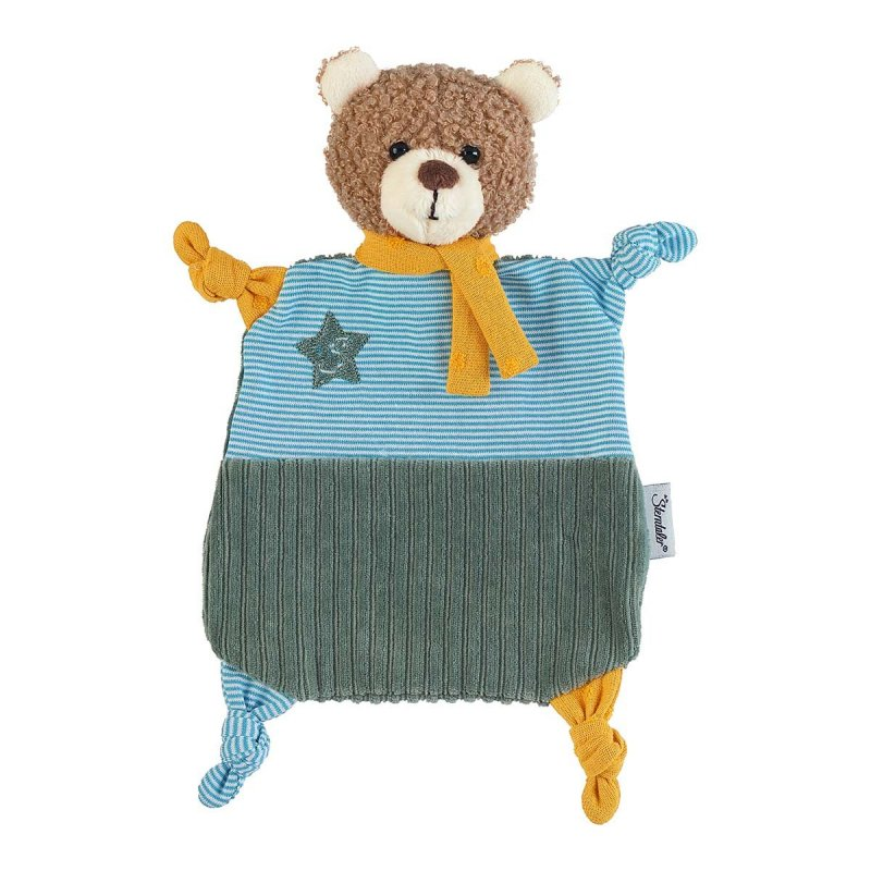 Teddybär Ben, 27cm   Sterntaler Schmusetuch ohne Rassel