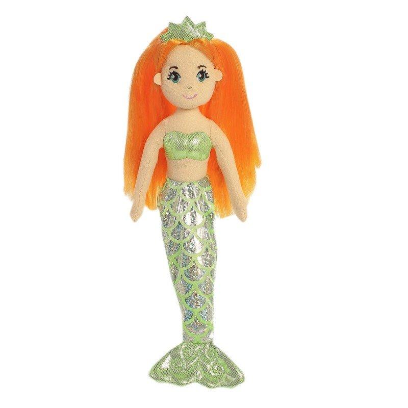 Meerjungfrau Amber, 25cm Aurora Sea Sparkles | Kuscheltier.Boutique