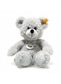 Steiff - Knopf im Ohr: Teddybär Fynn, 28cm hellgrau   Kuscheltier.Boutique