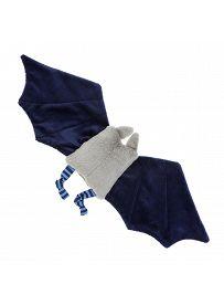 sigikid für Babys: Fledermaus blau, Schmusetuch Rückseite   Kuscheltier.Boutique