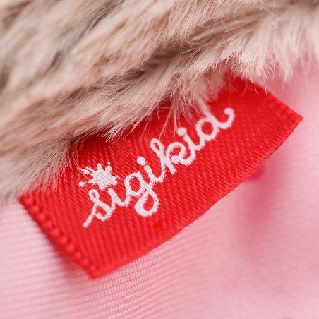 sigikid für Babys: Fledermaus rosa, Schmusetuch Detail | Kuscheltier.Boutique