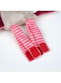 sigikid für Babys: Fledermaus rosa, Spielanhänger Beine | Kuscheltier.Boutique