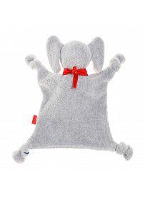 sigikid für Babys: Lolo Lombardo, Schmusetuch Rückseite | Kuscheltier.Boutique