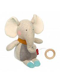 sigikid für Babys: Elefant Gold Collection, Spieluhr   Kuscheltier.Boutique