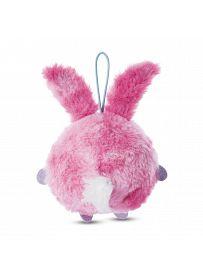 NICIdoos Ballbies: Schlüsselanhänger Hase rosa, Loop Rückseite | Kuscheltier.Boutique