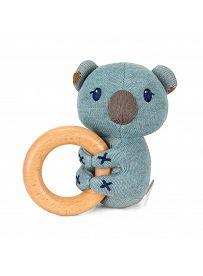 Sterntaler: Koala Kalla, Greifling mit Holzring Vorderseite | Kuscheltier.Boutique