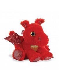 Drache Sizzle, rot 30cm Aurora Sparkle Tales Plüschtiere   Kuscheltier.Boutique