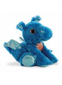 Drache Flash, blau 30cm Aurora Sparkle Tales Plüschtiere | Kuscheltier.Boutique