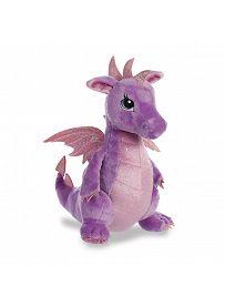 Drache Larkspur, violett 30cm Aurora Sparkle Tales Plüschtiere | Kuscheltier.Boutique