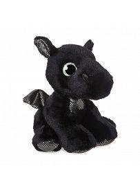 Drache Rogue, schwarz 18cm Aurora Sparkle Tales Plüschtiere | Kuscheltier.Boutique
